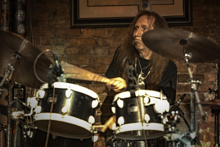Christopher Mizyk-plays-drums-for-Midnight-Rider-Band-at-Reggie's-Chicago